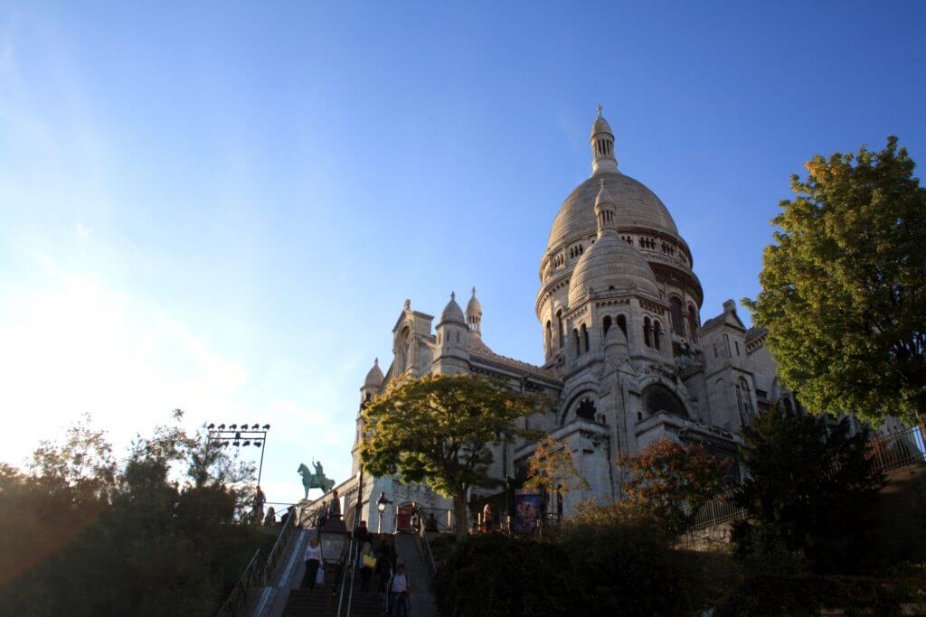 Sacred Heart Church in Montmartre