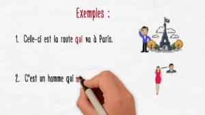 How to choose between que and qui in French